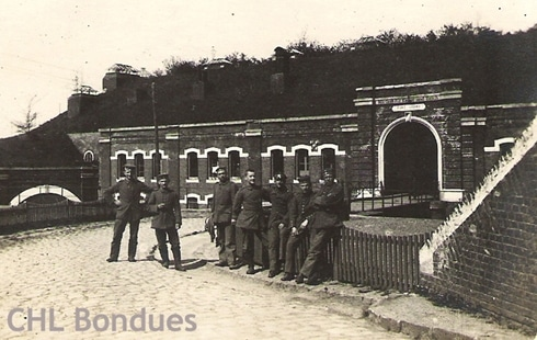 le fort de bondues en 1914 1918